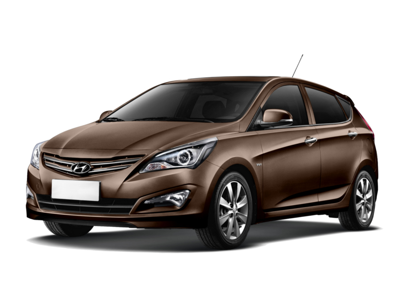 Фото Hyundai Solaris hatch AT Brown