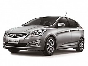 Фото Hyundai Solaris hatch AT Grey
