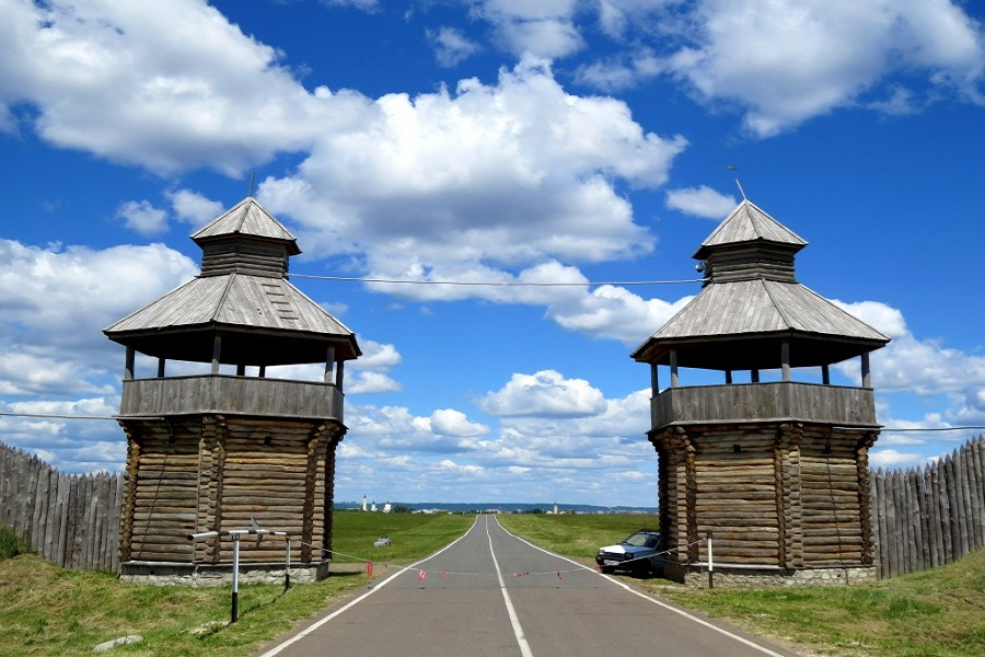 Travelling in Russia by a rented car: Tatarstan