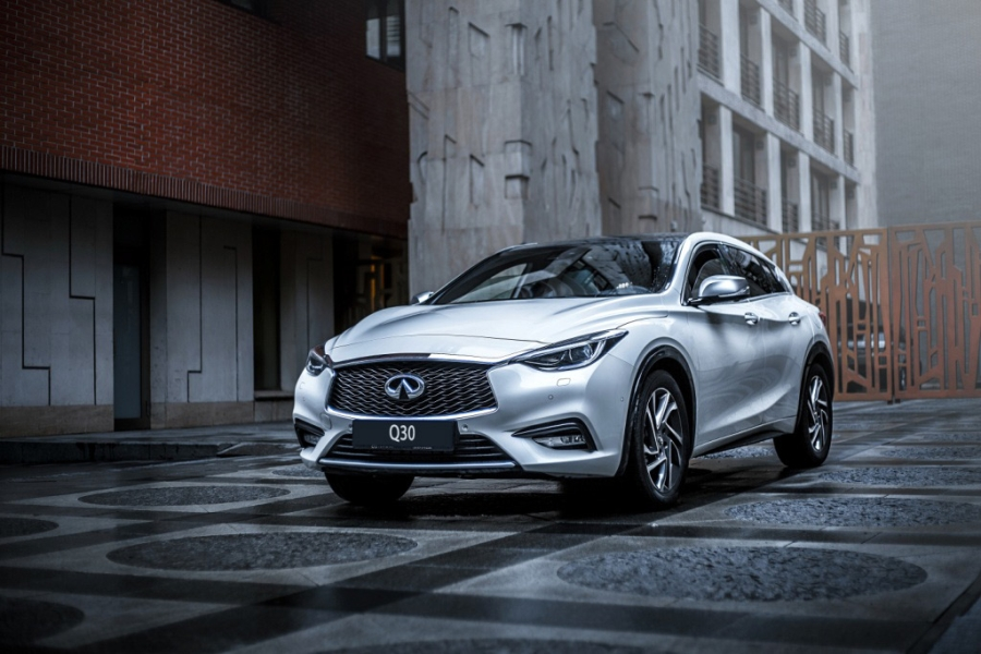 Infiniti Q30 to rent: a worthy competitor to Mercedes