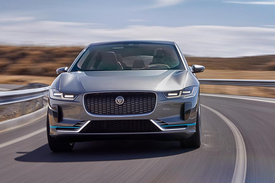 Jaguar I-Pace: mighty, stylish and fully electric car to rent