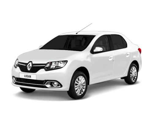 Фото Renault Logan II MT white