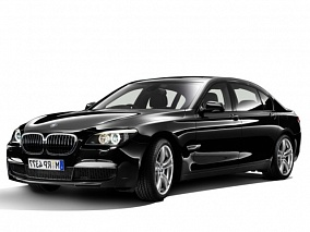 Фото BMW 750Li xDrive black