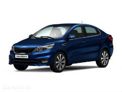 Фото Kia Rio III 1.6 AT Luxe Dark Blue