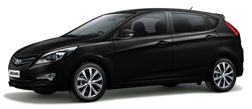 Фото Hyundai Solaris hatch МT Black
