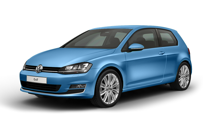 Фото Volkswagen Golf VII AT Blue