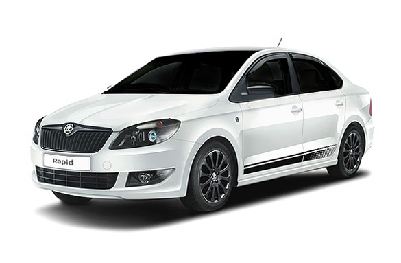 Фото Skoda Rapid AT White